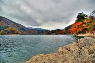 Lake Okutama, wandelen in Japan, wandelvakantie