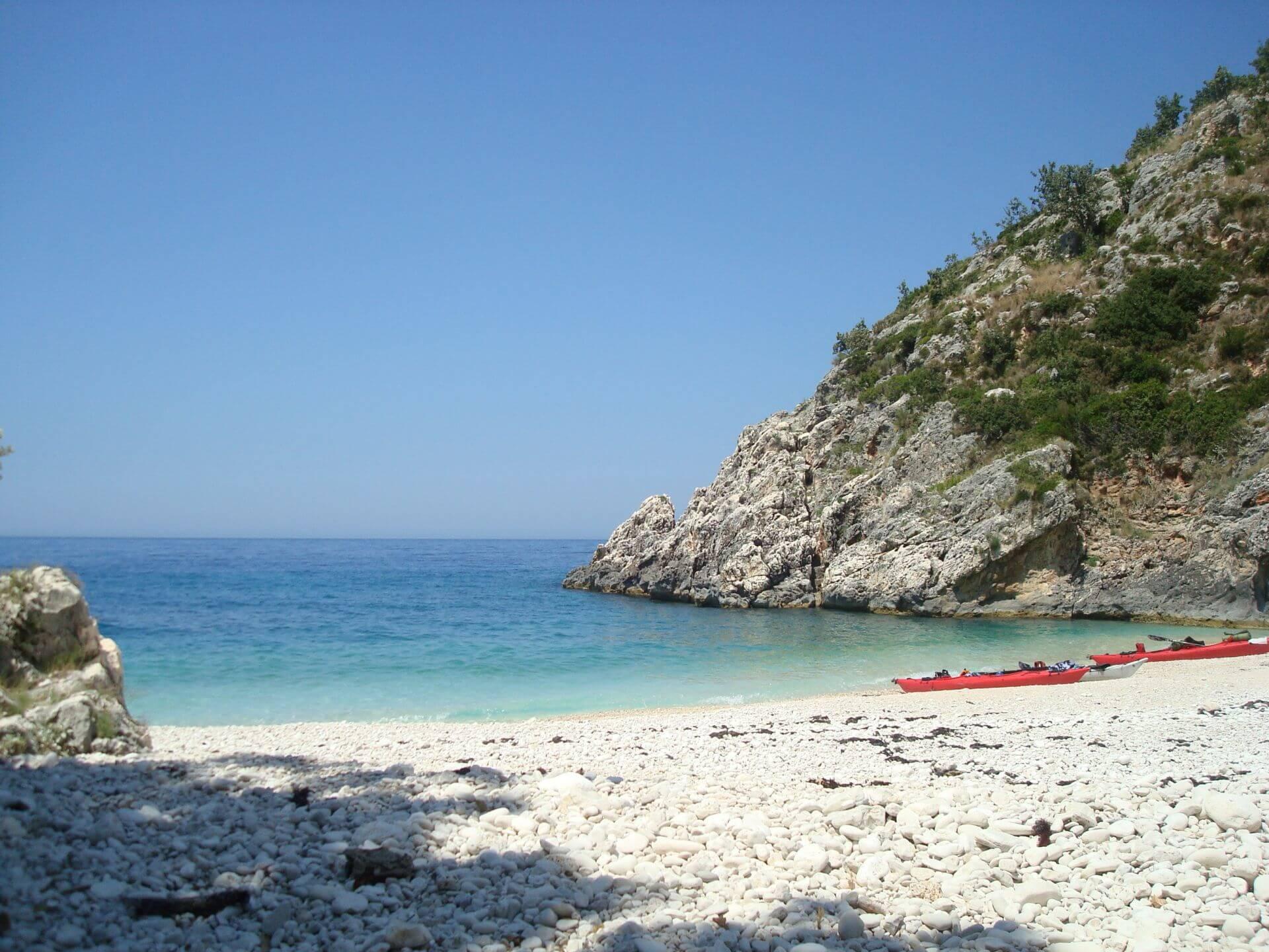 Strandvakantie: Strandvakantie In Albanië Aan De Albanese Riviera