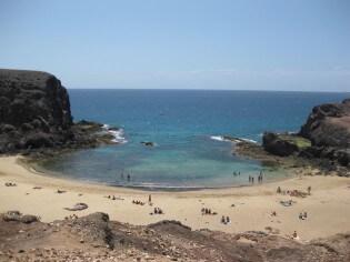 Playa de Papagayo, strand op Lanzarote