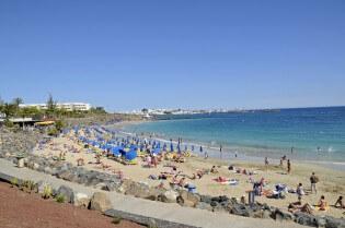 Stranden op Lanzarote - Playa Blanca