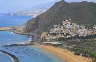 Stranden op Tenerife - Playa de las Teresitas