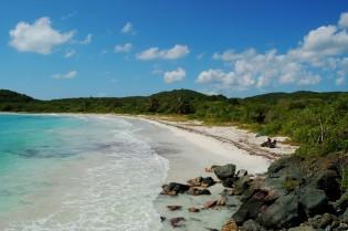 Vakantie op Viques, strand, Puerto Rico