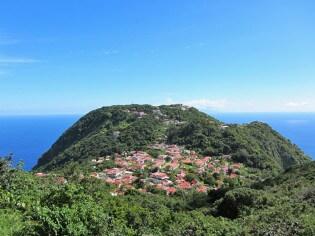 Windwardside op het eiland Saba