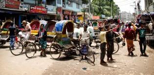 Dhaka Riksja, stedentrip, Bangladesh