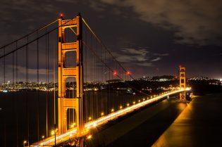 Golden gate bridge, citytrip San Francisco