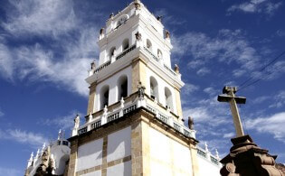 Stedentrip naar Sucre in Bolivia