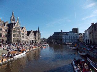 Graslei in Gent