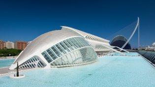 Vakantie naar Valencia - Ciutat de las arts i les ciencies