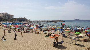 Benidorm strand