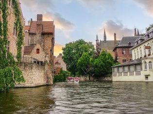 Brugge boottocht kanalen