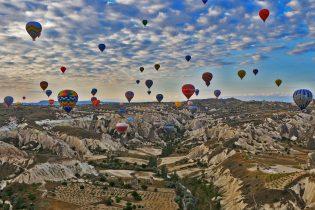 Cappadocie luchtballonvaart