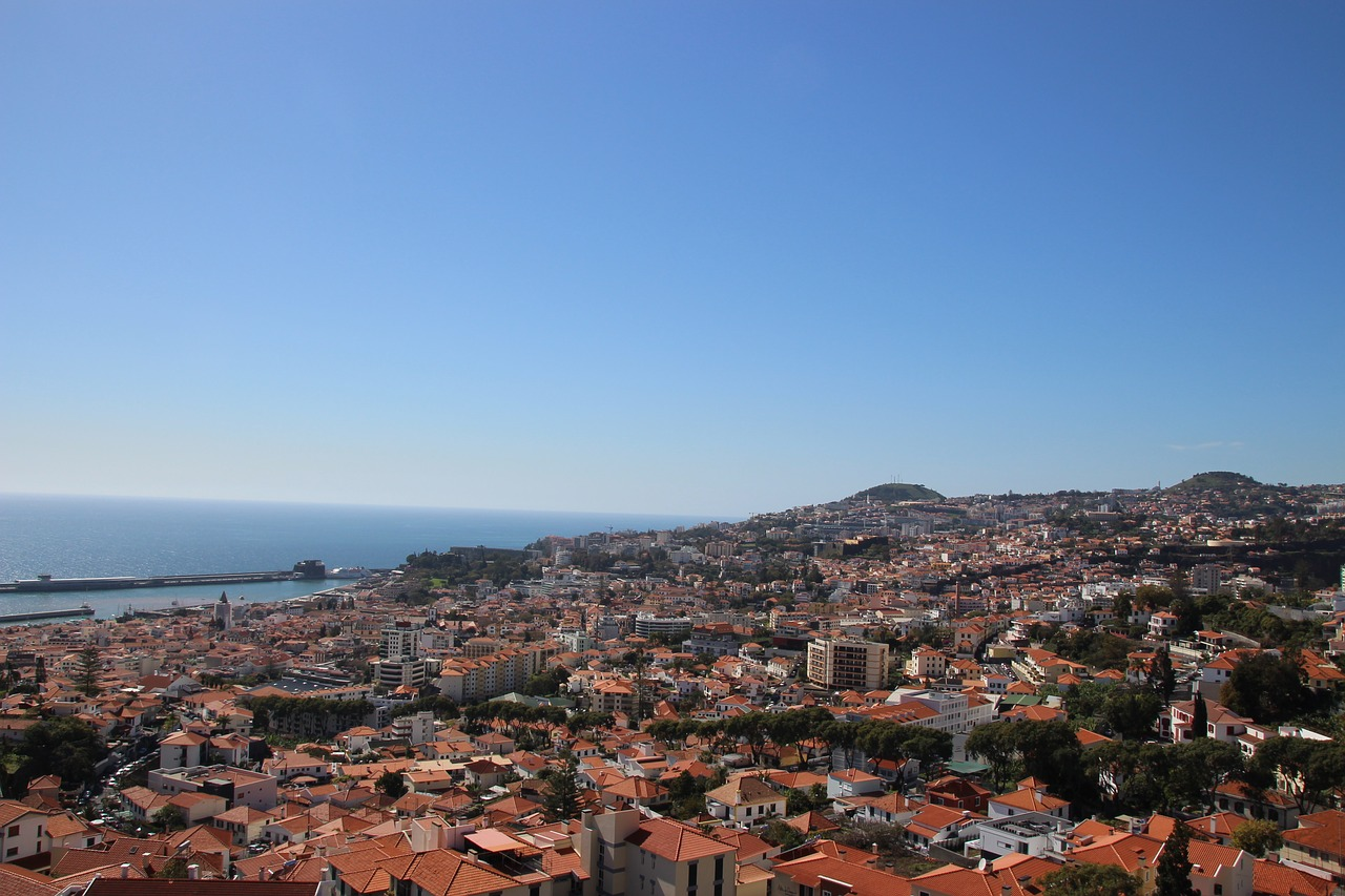 Funchal, de hoofdstad van Madeira
