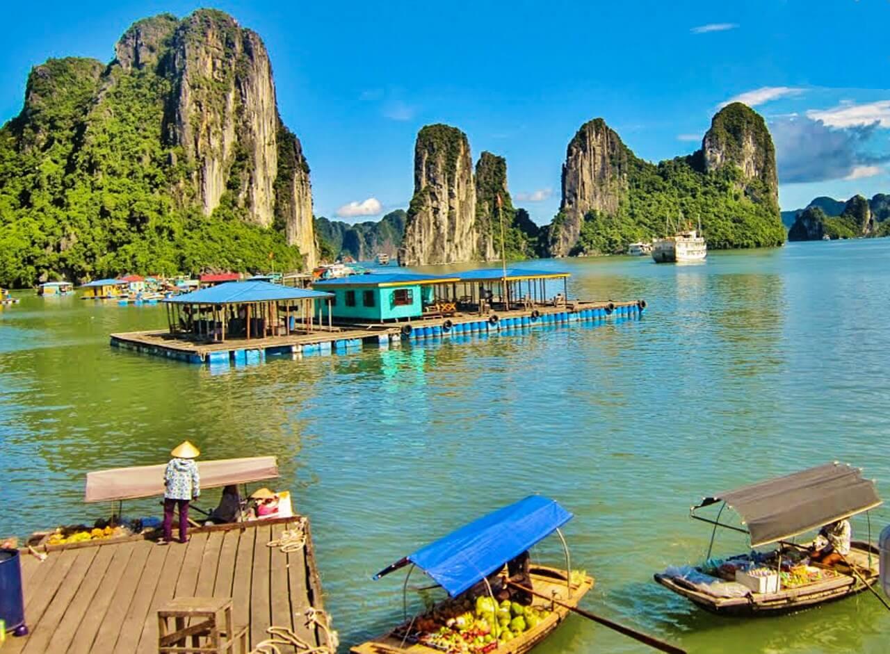 Van zuid naar noord Vietnam reizen: de hoogtepunten