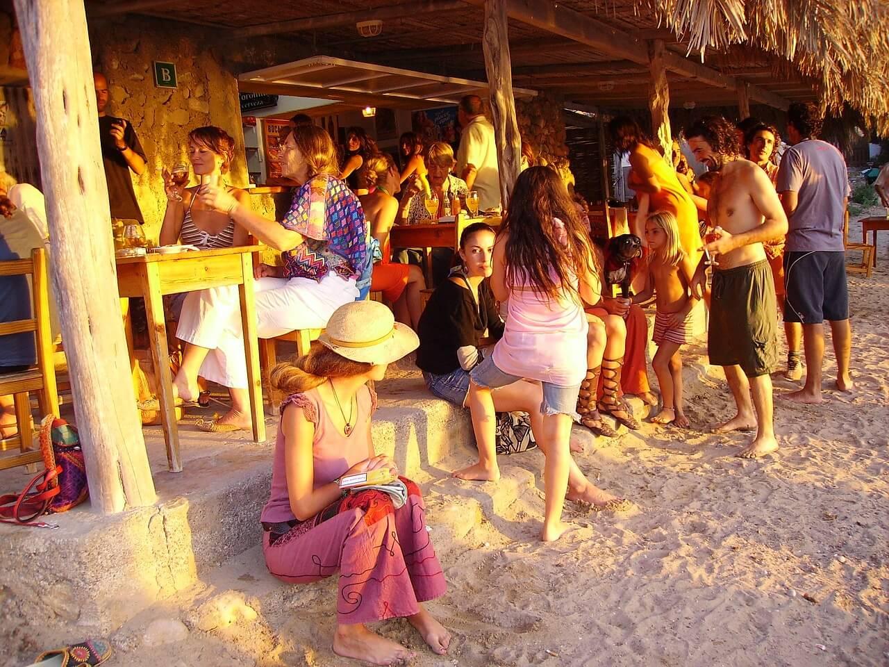 Een jongerenvakantie naar Ibiza