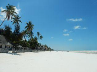 Pemba parelwitte strand