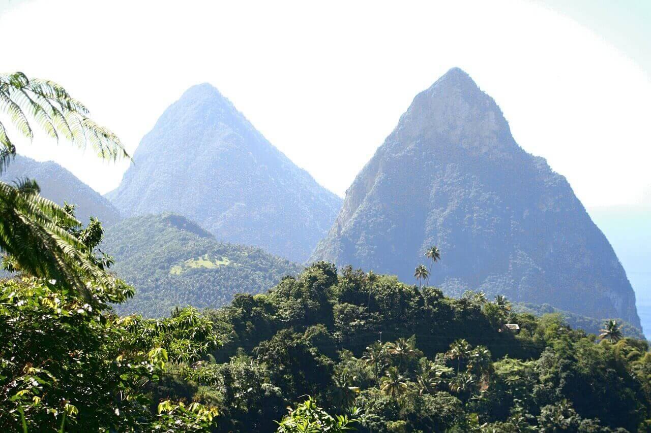 Natuur op Saint Lucia