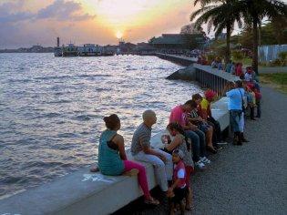 Suriname Waterkant Paramaribo