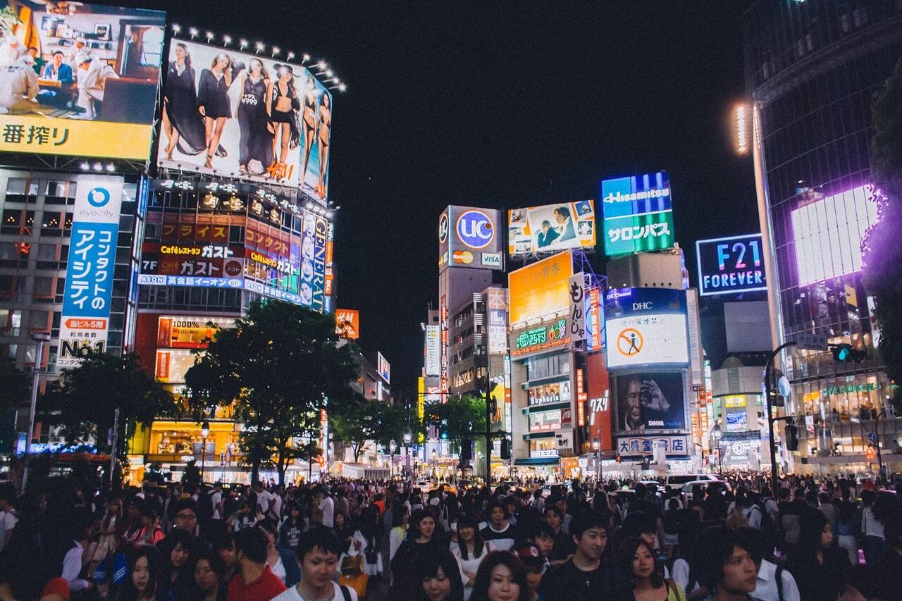 Stedentrip naar Tokyo