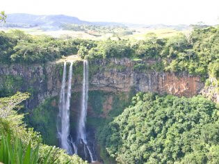 Chamarel Waterfall Waterval