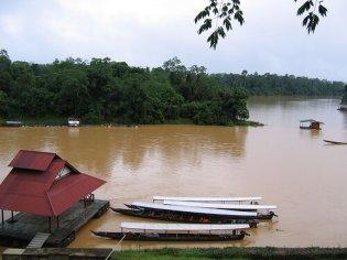 Maleisie Longtailboat Kuala Tembeling