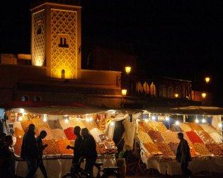 Markt in Marrakech Marokko