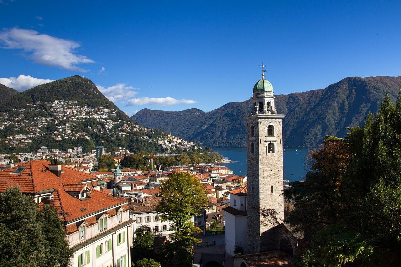 Meer van Lugano, Italiaans meer