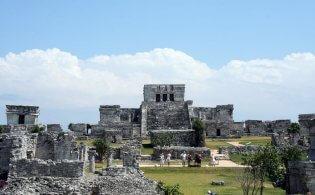 De oude Mayastad Tulum bezoeken