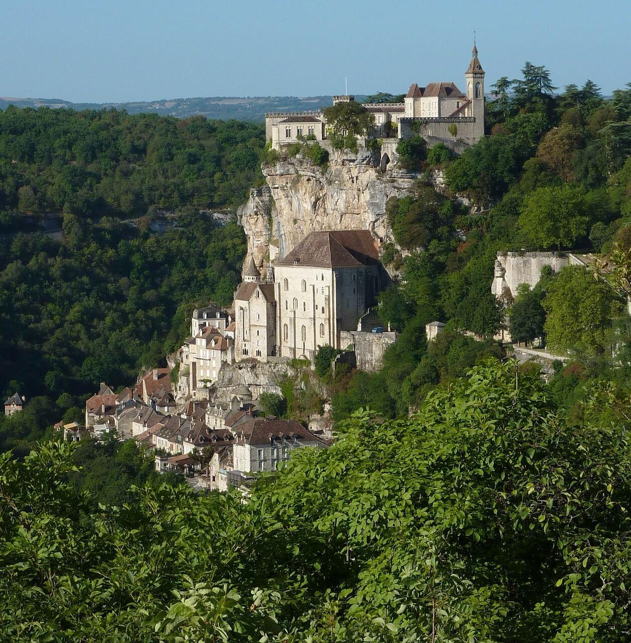 Rocamadour, stad op de rots