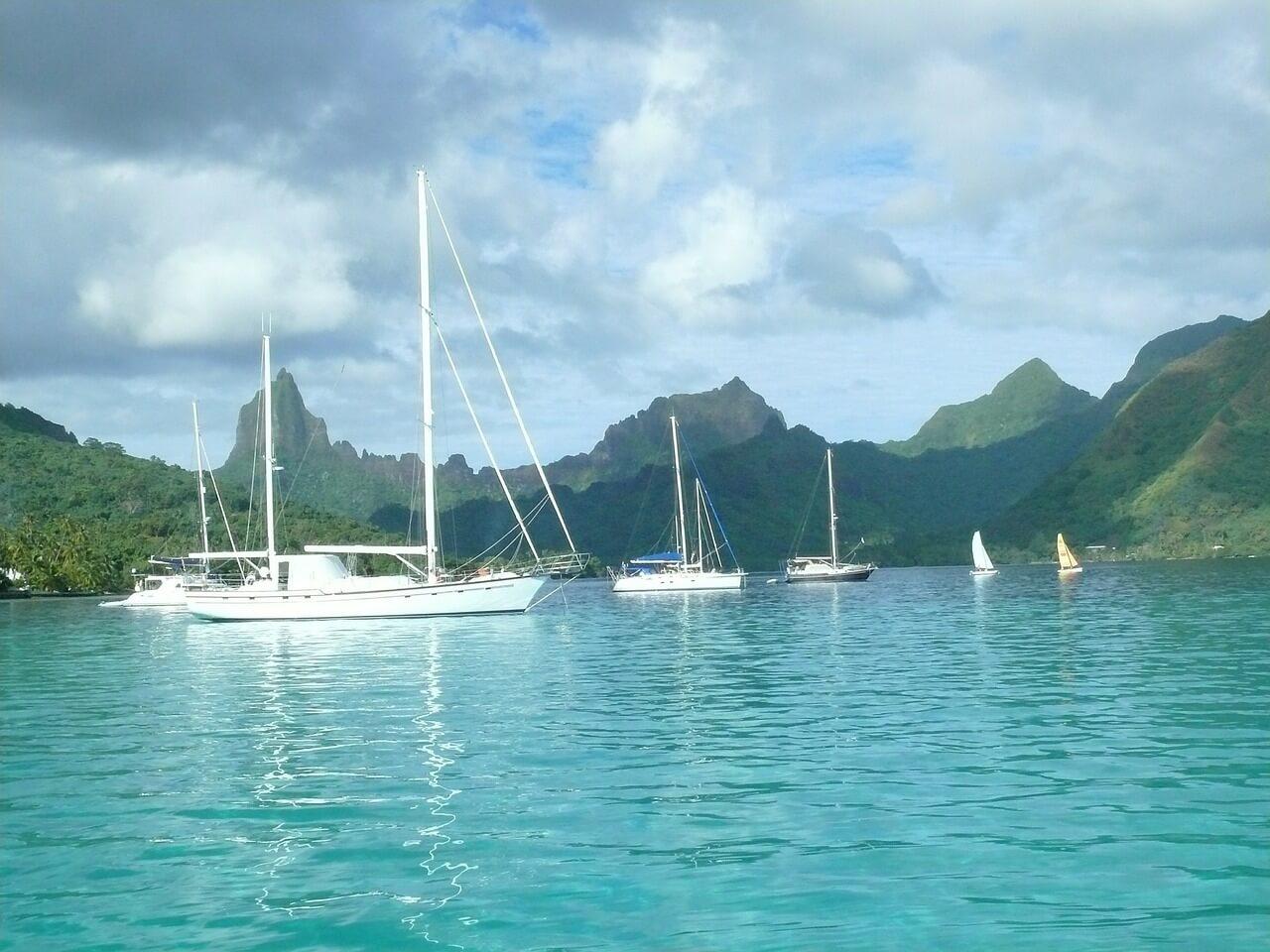 Vakantie op Tahiti