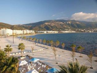 Vlorë badplaats Albanië