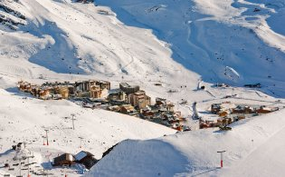 Wintersport in Frankrijk: Val Thorens!