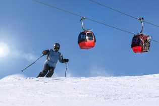 Wintersport Saalbach
