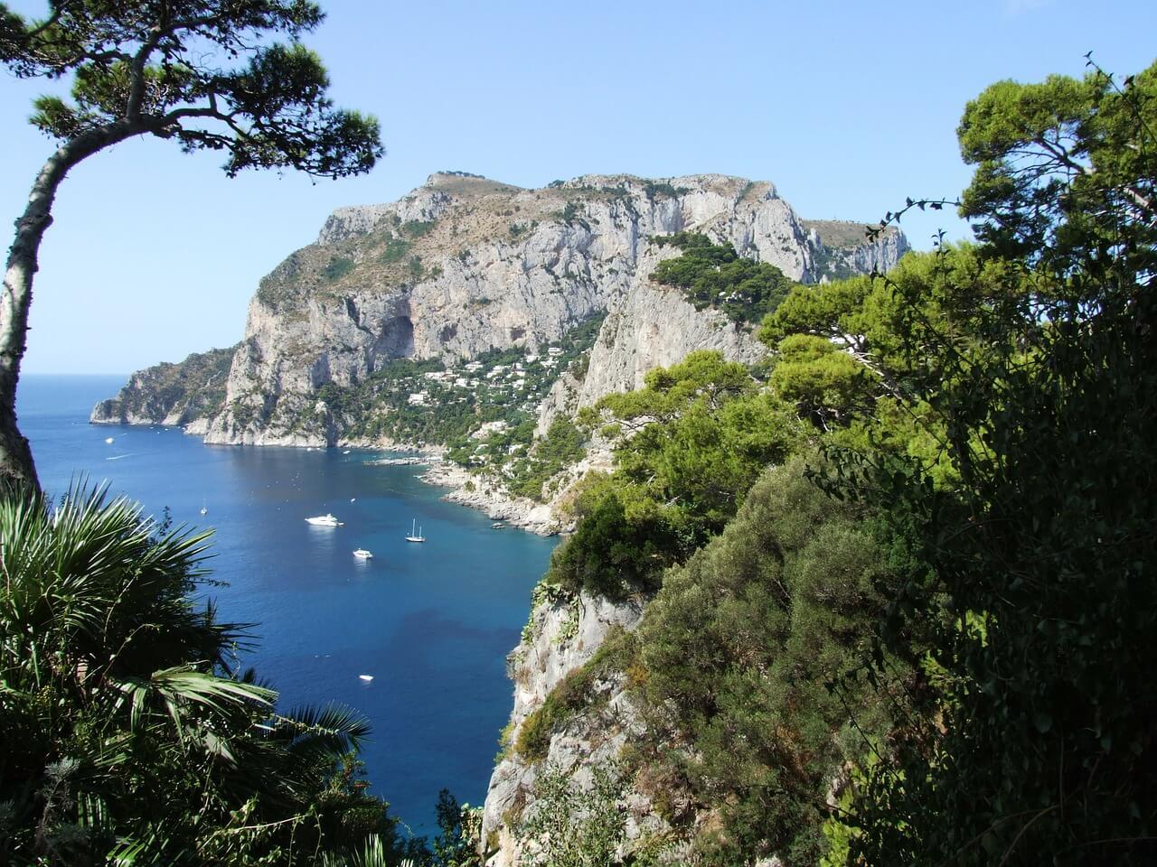Vakantie op het Italiaanse bloemeneiland Capri