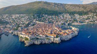 Dubrovnik zee stad