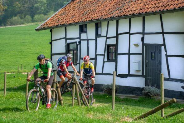 de mooiste mountainbike routes van limburg