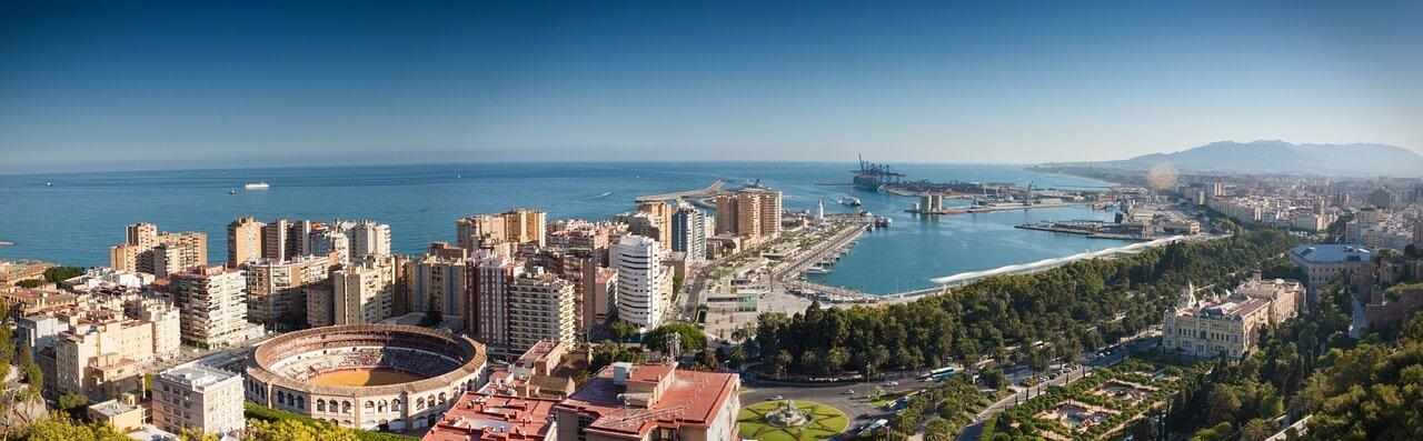 Plaatsen in Zuid-Spanje