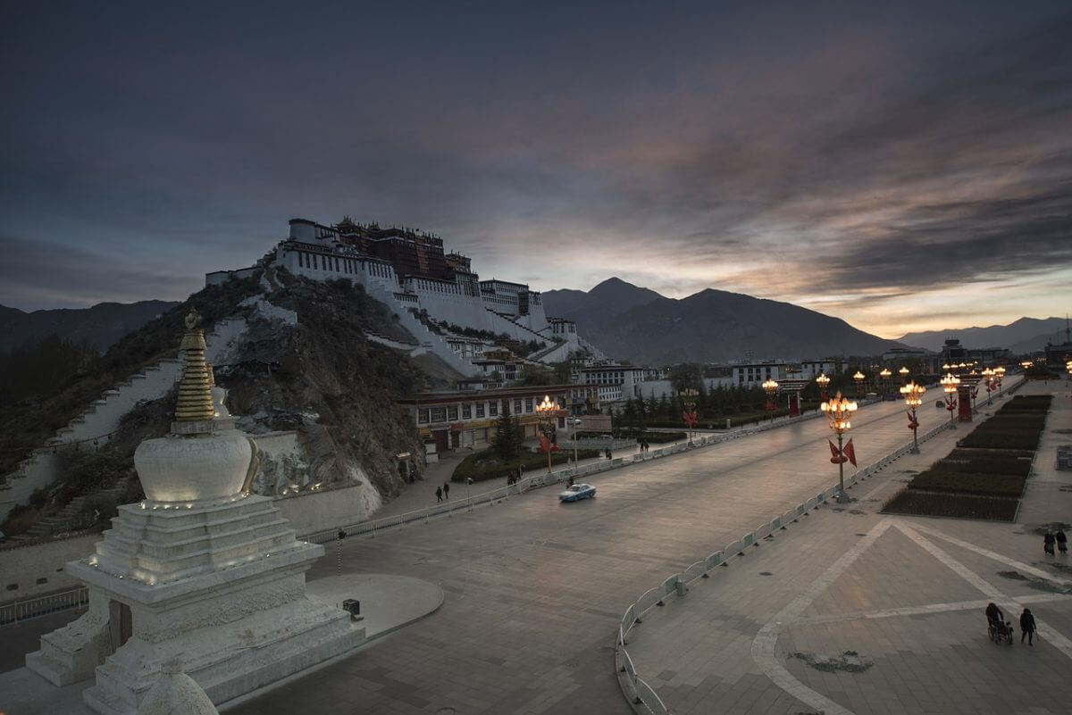 paleis Tibet
