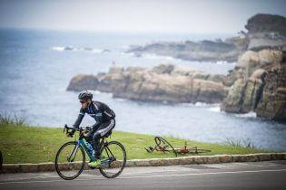fietser kustlijn