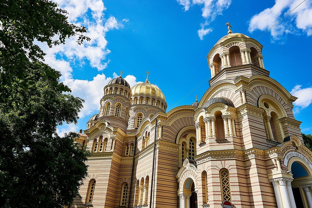 Kathedraal Geboorte van Christus Letland
