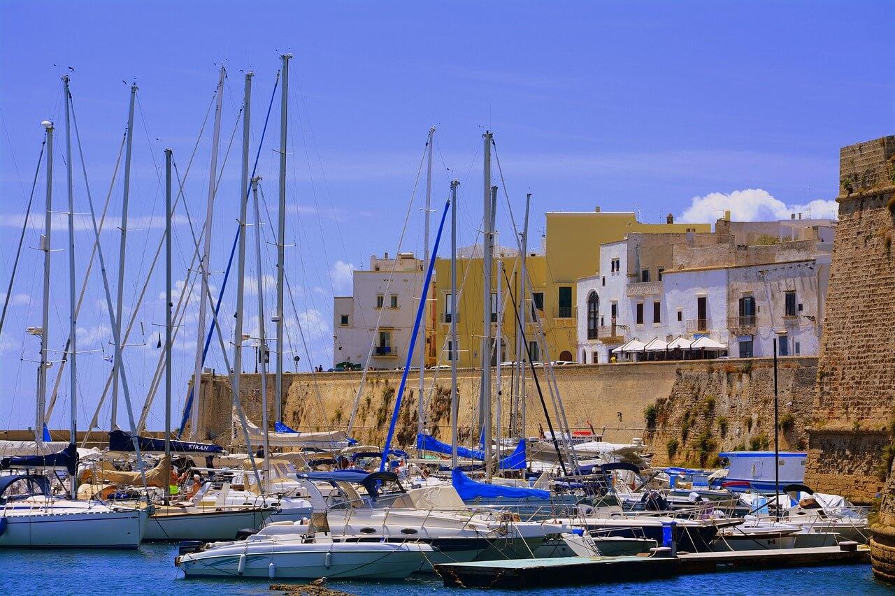 Puglia vissersstad