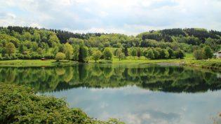 Rursee in de Eifel