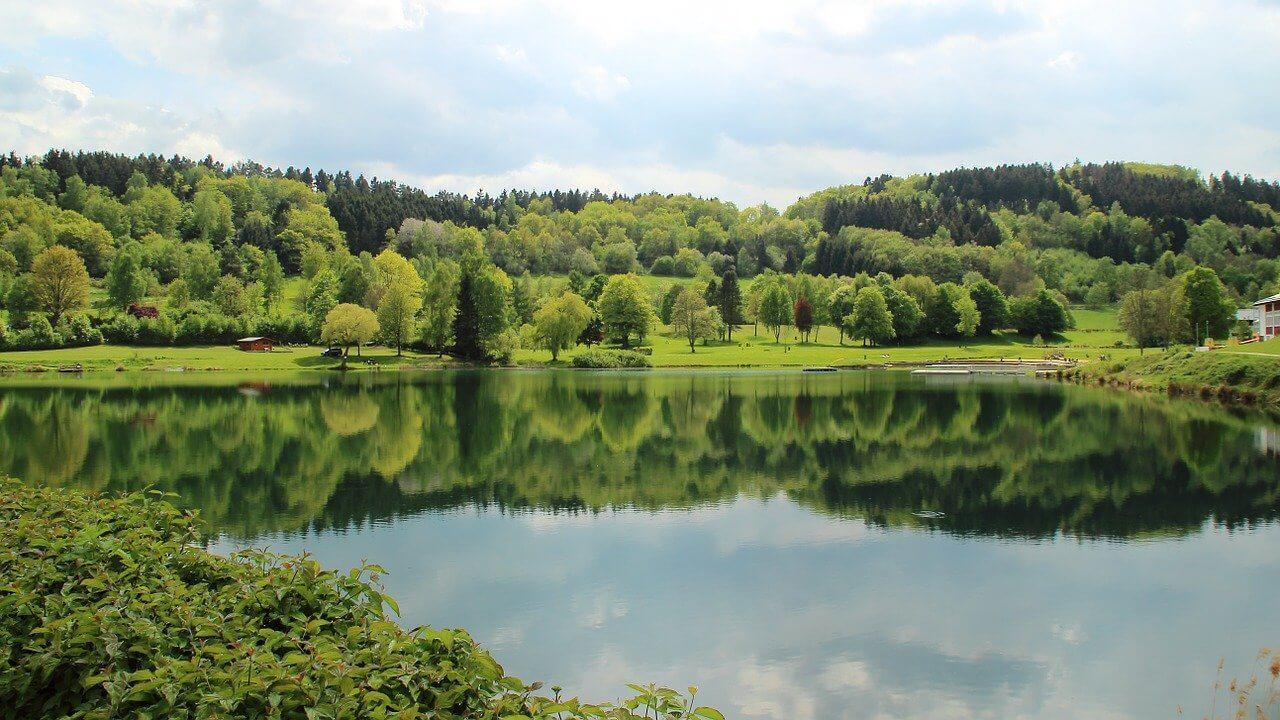 Rursee: Schitterend meer in de Eifel